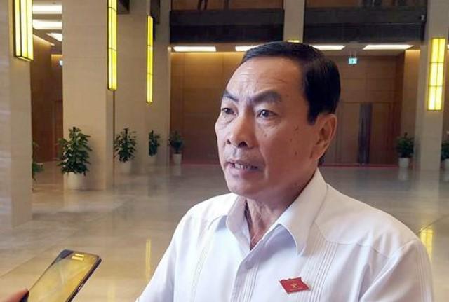 Đại biểu Phạm Văn Hòa, ủy viên Ủy ban Pháp luật của Quốc hội.