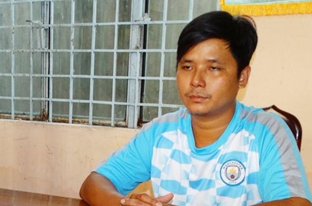 Đối tượng Trần Hữu Phong.
