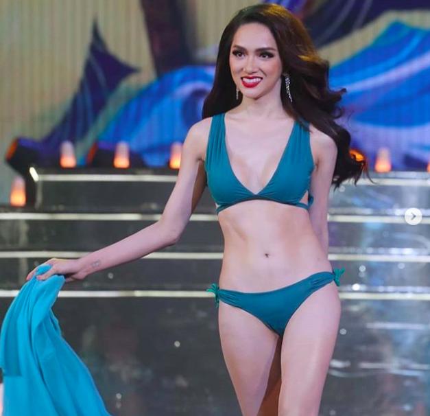 Body chuẩn của Tân Hoa hậu Chuyển giới được chọn xuất hiện nổi bật.