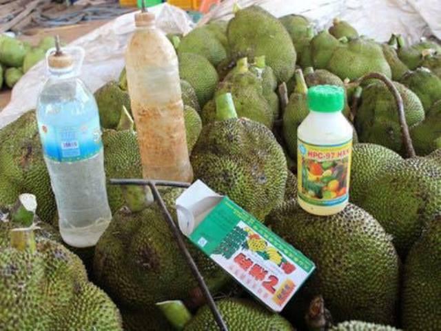 Sản phẩm nhúng chín mít HPC -97 HXN bị cấm sử dụng trong bảo quản, chế biến nông sản, thực phẩm.