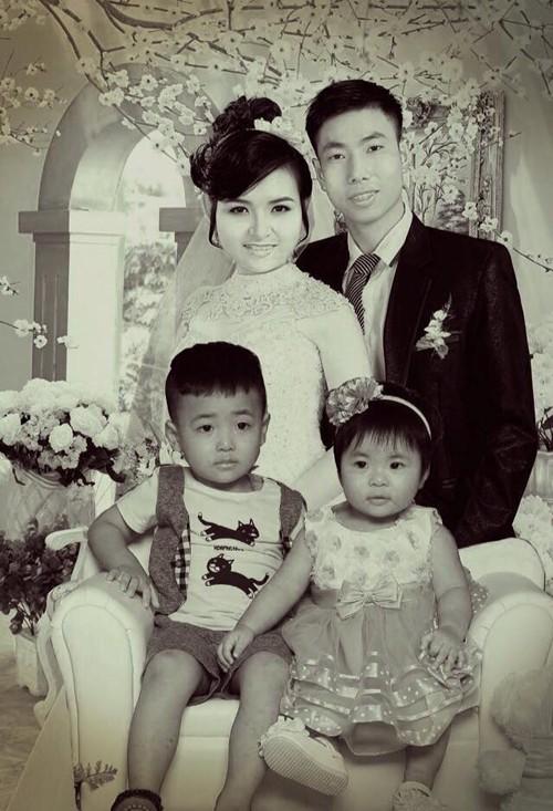 Câu chuyện sau bức ảnh ghép với chồng quá cố của người vợ trẻ