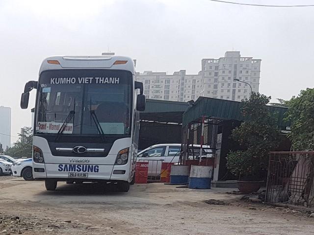 Hàng ngày có nhiều lượt xe của Kumho Việt Thanh về đây để bơm xăng.