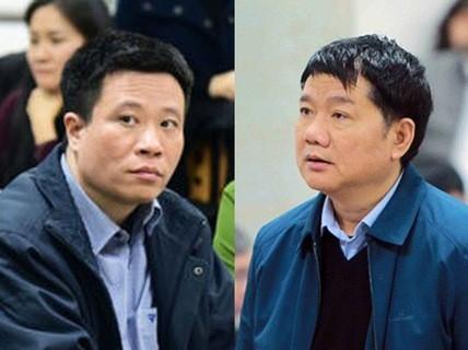 Cựu chủ tịch HĐQT OceanBank- Hà Văn Thắm và ông Đinh La Thăng.