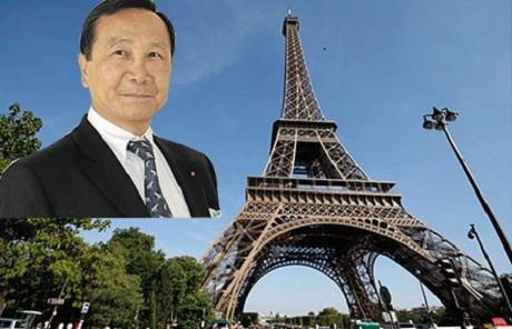 Triệu phú gốc Việt Chuc Hoang định mua cả tháp Eiffel