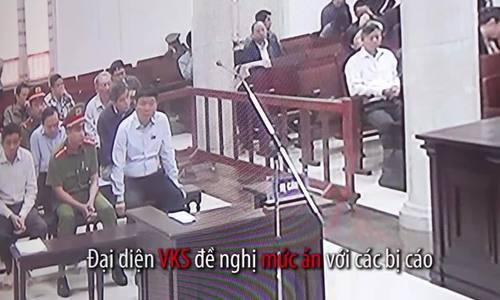 Ông Đinh La Thăng bị VKS đề nghị phạt 18-19 năm tù