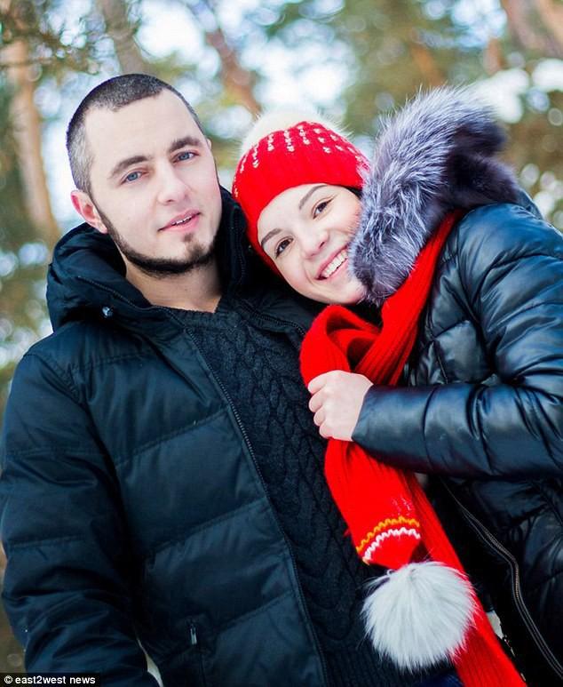 Margarita và Dmitry thời còn mặn nồng
