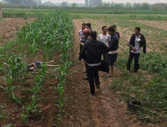 Phát hiện nam thanh niên chết dưới ruộng ngô với thương tích trên người