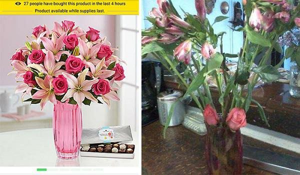Đặt bình hoa tặng mẹ 8/3 nhưng thế này thì ai dám tặng nữa nhỉ?