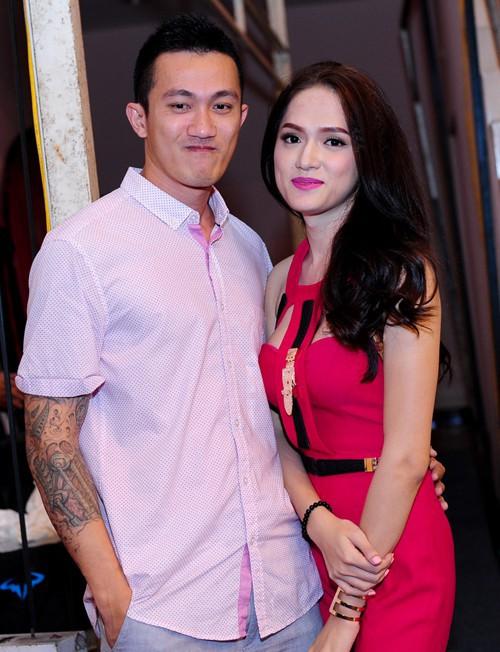Hương Giang và Criss Lai.