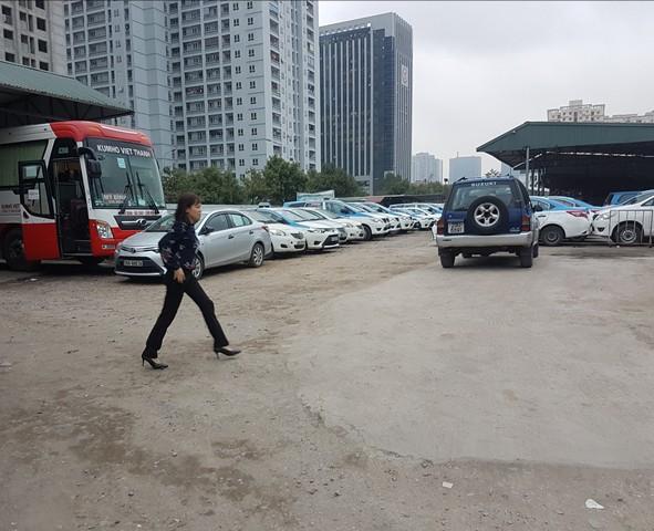 Một góc bãi xe của hãng Kumho Việt Thanh.