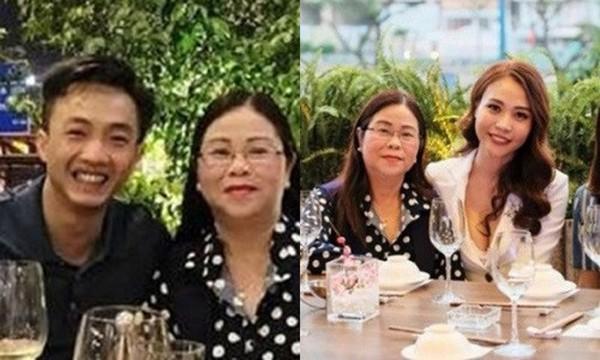 Thậm chí, anh còn chủ động gặp gỡ và trò chuyện cùng mẹ của Đàm Thu Trang.