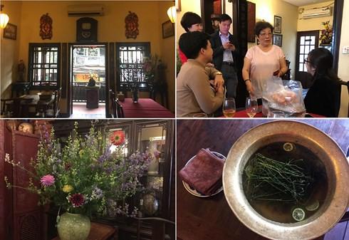 Ngôi nhà 25 Mã Mây (Hà Nội) là nơi mà nghệ nhân Ánh Tuyết thường xuyên tiếp những người yêu mến phong vị ẩm thực Hà Nội xưa.