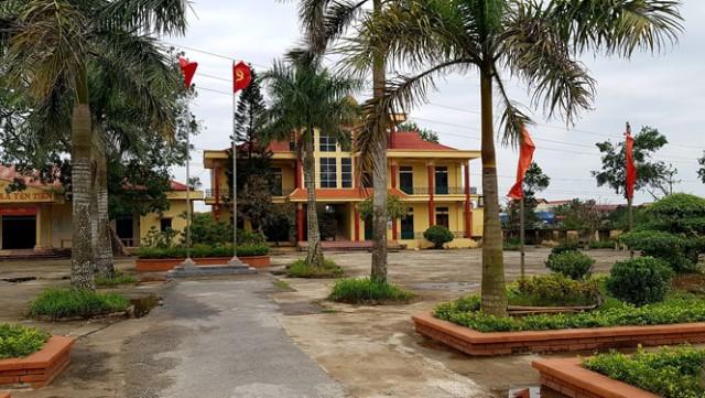 Một Phó chủ tịch UBND xã Yên Tiến vừa bị bắt vì liên quan đến sai phạm đất đai. Ảnh: PV