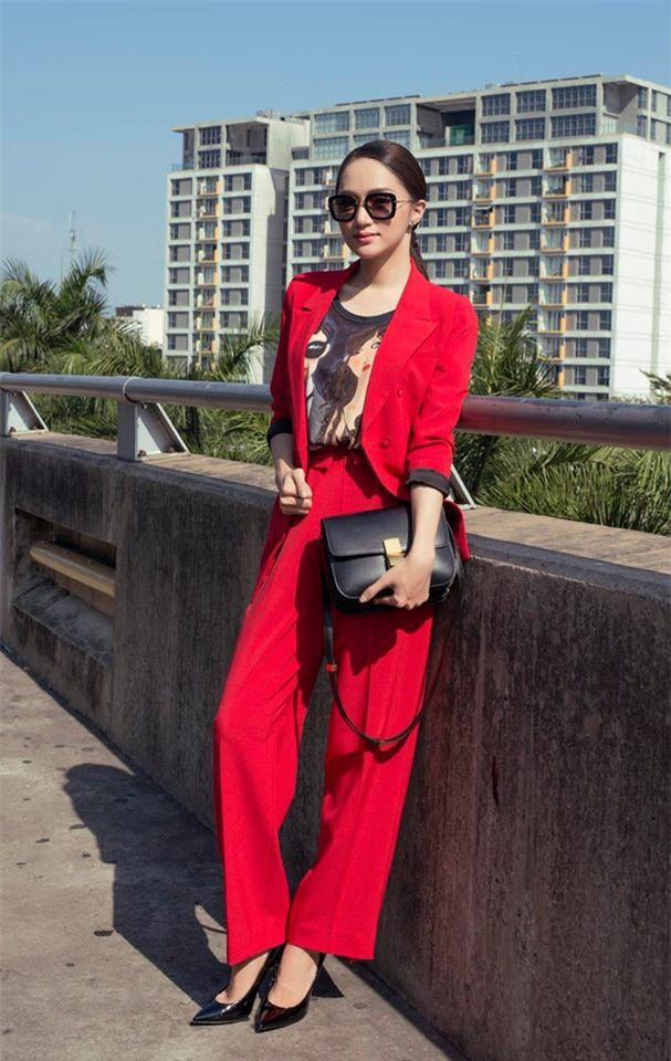 Tìm kiếm gợi ý diện đồ công sở từ chính phong cách của các người đẹp Việt - Ảnh 15.