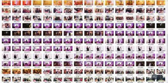 Toàn bộ ảnh đám cưới được gửi về đều là ảnh cắt từ video
