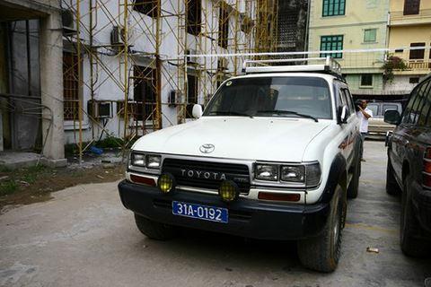 Chiếc xe ô tô đeo biển số giả được sử dụng để vận chuyển ma túy