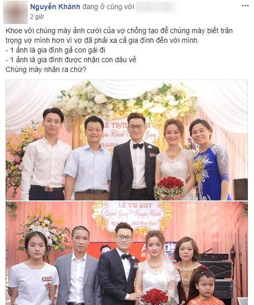 'Một đám cưới hai tâm trạng' - bức ảnh làm dậy sóng mạng xã hội
