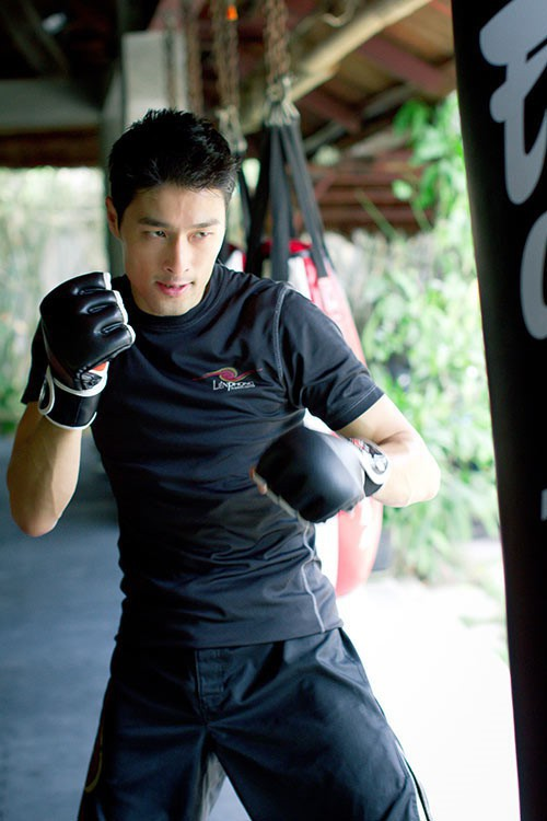 Có vẻ, võ thuật mới là đam mê đích thực của Johnny Trí Nguyễn.