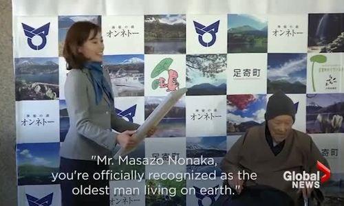 Cụ ông 112 tuổi tiết lộ bí quyết sống thọ nhất thế giới