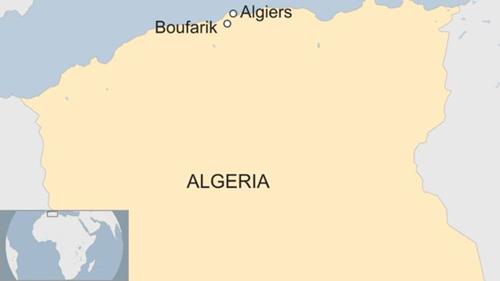 Vị trí thành phố Boufarik. Đồ họa: BBC.