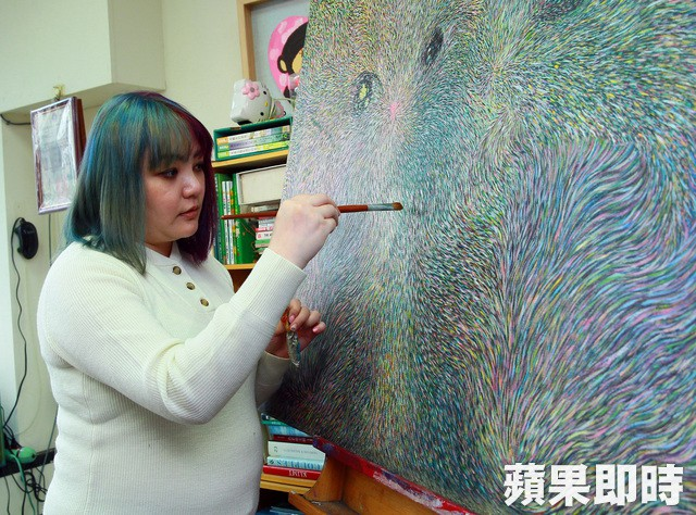 Người đẹp Đài Loan hiện tại mở lớp dạy vẽ tại nhà.