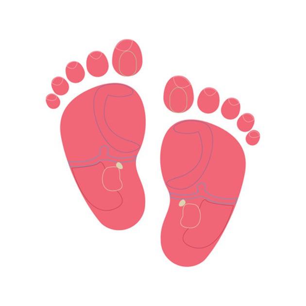 Bấm huyệt chân kết nối vị trí nhỏ này (màu vàng trên hình) vào các tuyến thượng thận. Nhẹ nhàng xoa bóp điểm này để giúp bé thức dậy.