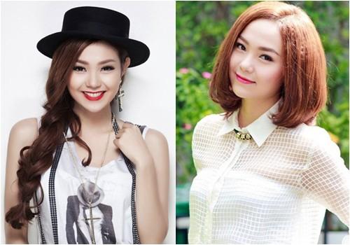 Năm 2014, từ vận đồ nữ tính, Minh Hằng đổi gió bằng những bộ đồ phóng khoáng, khỏe khoắn. Tuy nhiên cách phối của cô chưa được đánh giá cao.