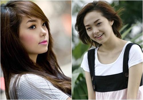 Năm 2009, Minh Hằng theo đuổi phong cách kẹo ngọt, đáng yêu. Cùng với làn da trắng trẻo hơn, nhan sắc của cô cũng trưởng thành và xinh đẹp hơn hẳn.