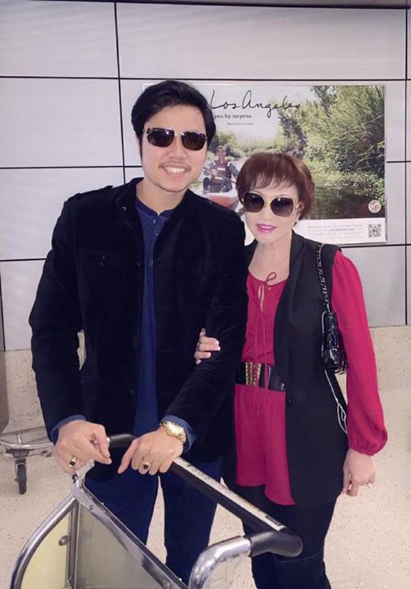 Vũ Hoàng Việt và tình già lúc còn yêu nhau nồng nàn.