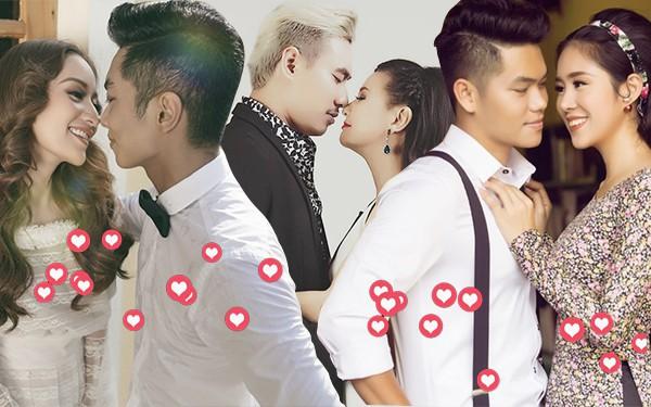 """Showbiz Việt cũng có những cuộc tình kiểu """"chị đẹp mua cơm ngon cho tôi"""" như thế này"""