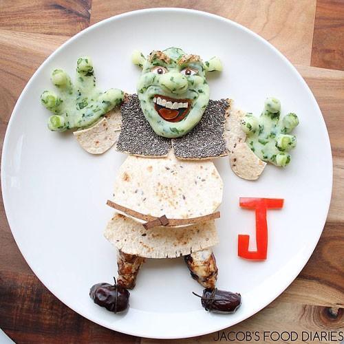Mohmedi tâm sự, không phải các món ăn của Jacob mỗi tối đều được chuyển thành tác phẩm điêu khắc.