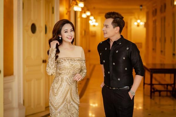 MC Danh Tùng và MC Thùy Linh được xem là cặp đôi đẹp của nhà đài VTV.
