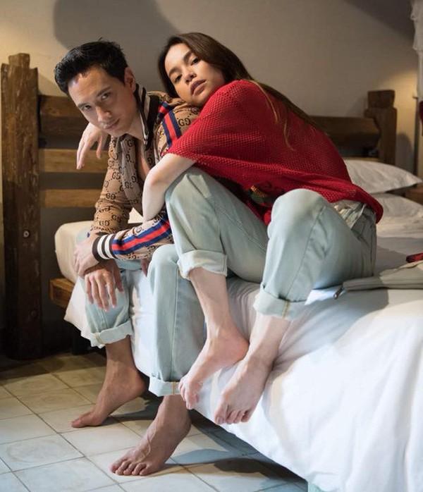 Hà Hồ và Kim Lý mới yêu nhau được một thời gian ngắn nhưng tình cảm đã rất nồng nàn.