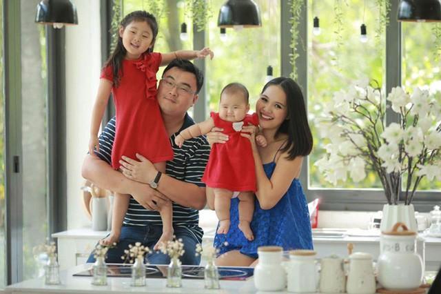 HH Hương Giang và bí quyết luyện con giỏi 3 thứ tiếng