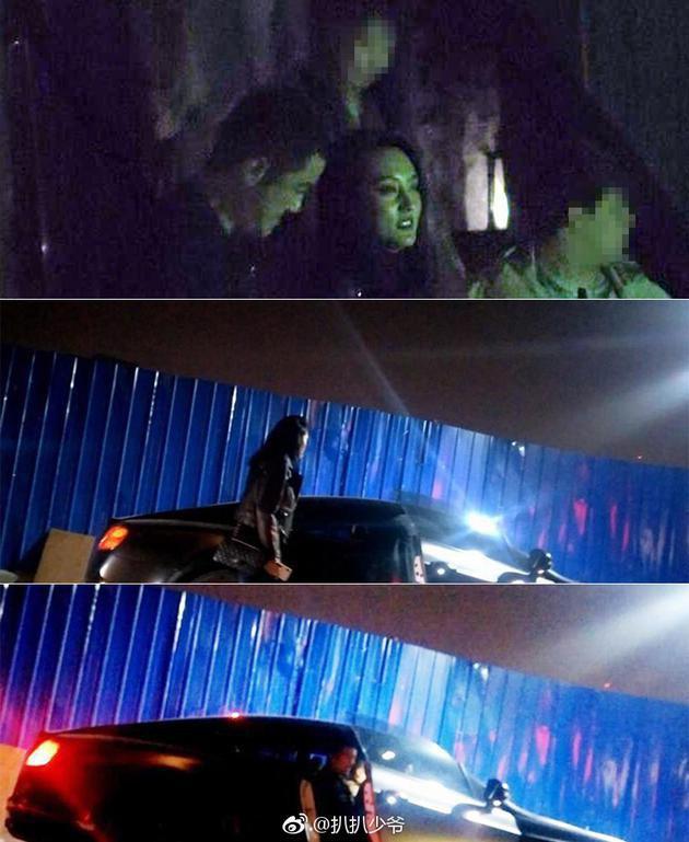 Lộ ảnh 'gái lạ' hẹn hò với Lý Á Bằng, thản nhiên ôm ấp ngồi lên đùi nam tài tử