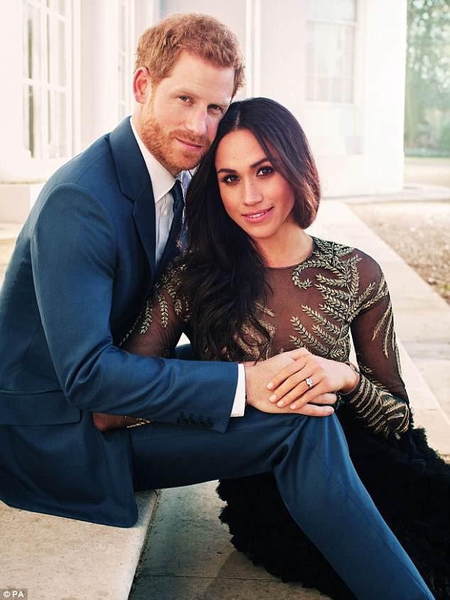 Hoàng tử Harry sẽ cưới nữ diễn viên người Mỹ vào 19/5 tới đây.