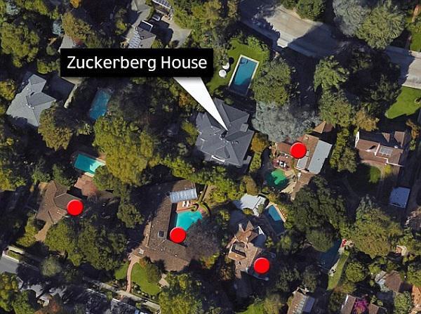Vì không muốn cuộc sống đời tư của gia đình bị để ý, ông chủ Facebook mua lại toàn bộ 4 căn nhà xung quanh có tầm nhìn thẳng vào nhà anh.