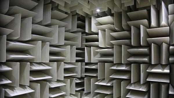 Không một tiếng ồn nào có thể xâm nhập vào căn phòng đặc biệt này.