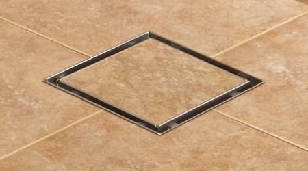 Ngoài dạng thanh dài, bạn có thể dùng phễu dạng gạch bông hình vuông nhỏ.