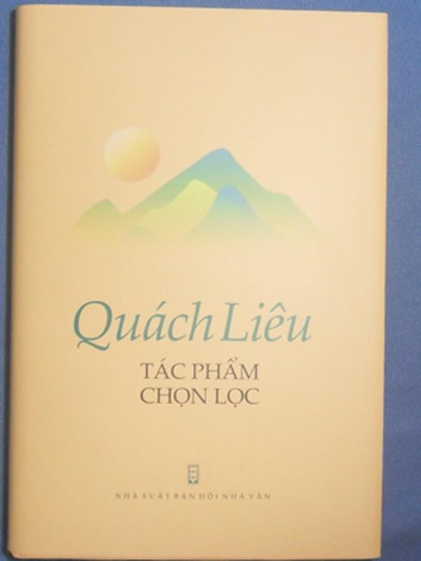 Sách của nhà văn Quách Liêu.