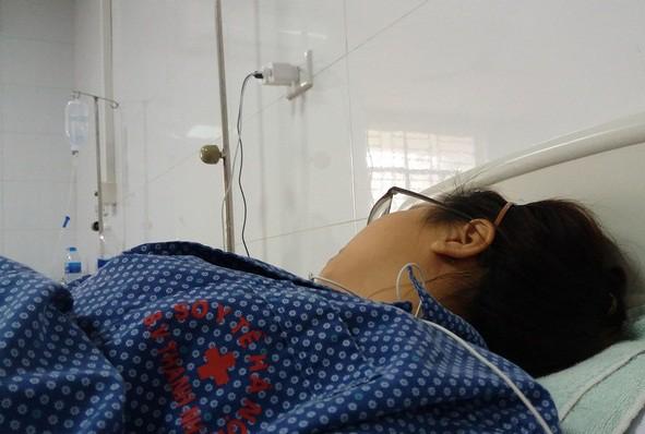 Nữ sinh bị giám đốc trung tâm gia sư hành hung vẫn chưa hết hoảng sợ sau khi nhập viện