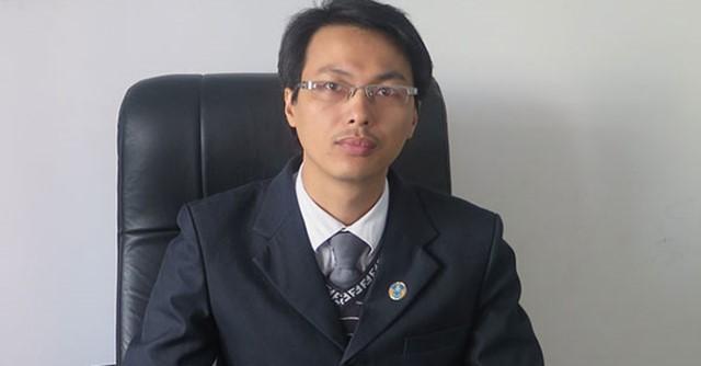 Luật sư Đặng Văn Cường - Trưởng Văn phòng luật sư Chính Pháp.