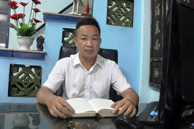 Luật sư Nguyễn Anh Thơm (Đoàn luật sư TP Hà Nội).