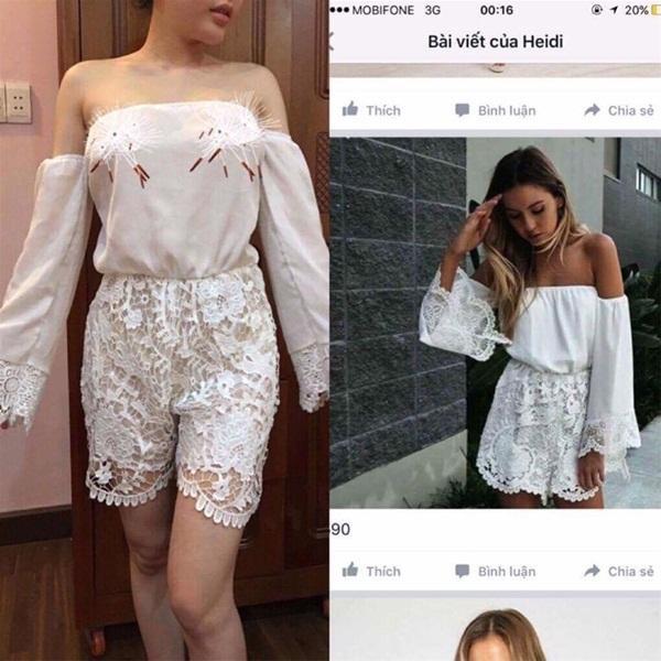 Không thể lúc nào cũng đổ lỗi cho người mặc được, vóc dáng của cô nàng này không hề thua kém người mẫu nhưng chỉ cần nhìn qua thôi cũng đủ thấy bộ đồ nhận được khác xa với hình quảng cáo.