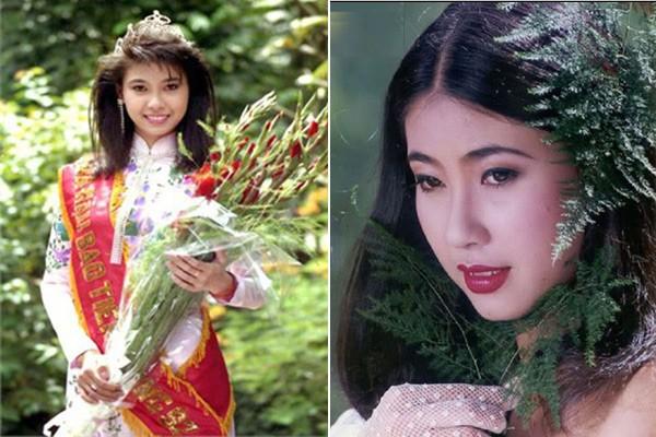Hà Kiều Anh đăng quang khi 16 tuổi.
