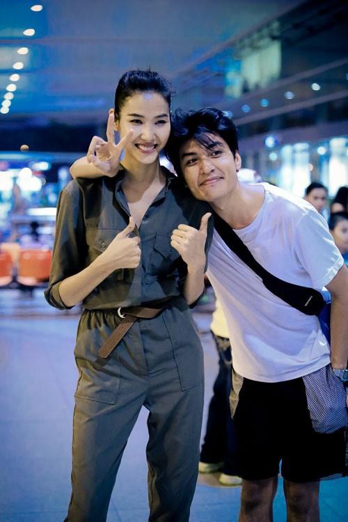 Quang Đại và Hoàng Thuỳ có cùng xuất phát điểm từ cuộc thi Vietnams Next Top Model.