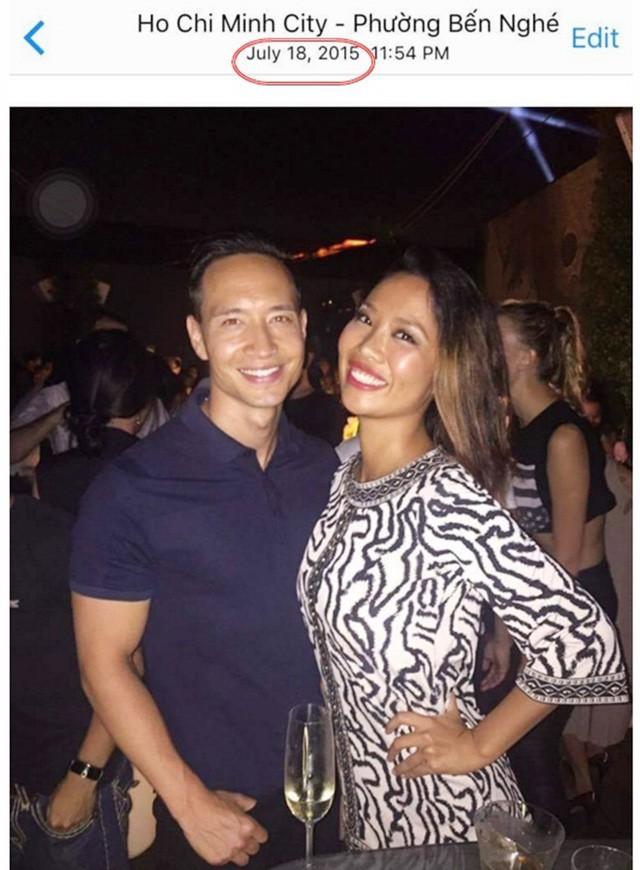 Hình ảnh Kiko Chan chia sẻ về khoảng thời gian cô hẹn hò Kim Lý.