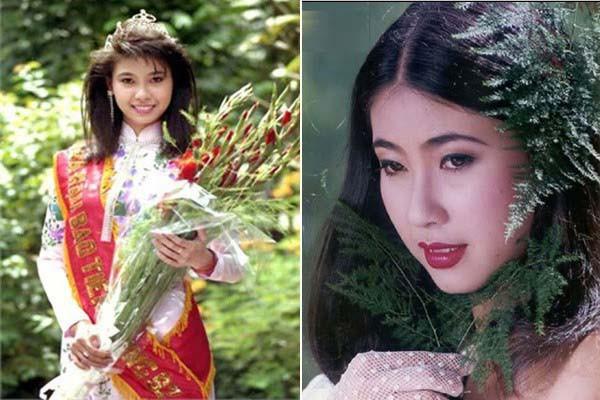 Hà Kiều Anh thời mới đăng quang Hoa hậu Việt Nam. Ảnh: TL.