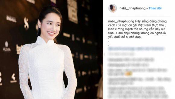 Tài khoản Instagram có tên nabi_nhaphuong thường xuyên đăng tải hình ảnh và những dòng trạng thái sâu cay giữa tâm bão.