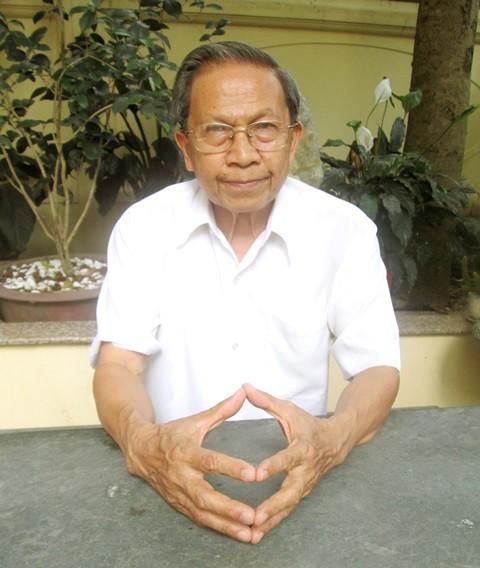 Thiếu tướng Lê Văn Cương, nguyên Viện trưởng Viện Nghiên cứu Chiến lược, Bộ Công an . Ảnh: Cao Tuân